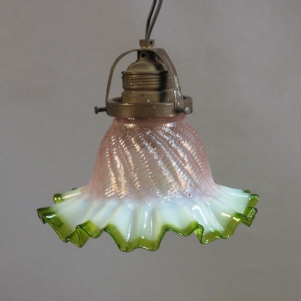 Art Nouveau ceiling lamp...