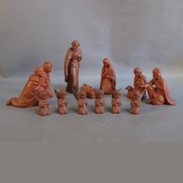13 Krippenfiguren aus...