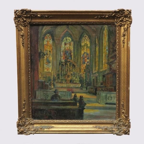 Emillie von Palmenberg. Oil...