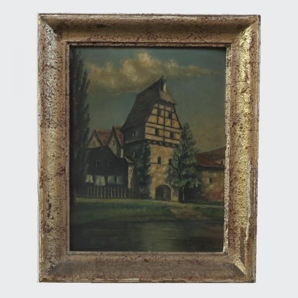 A. Friedrich. Oil on...