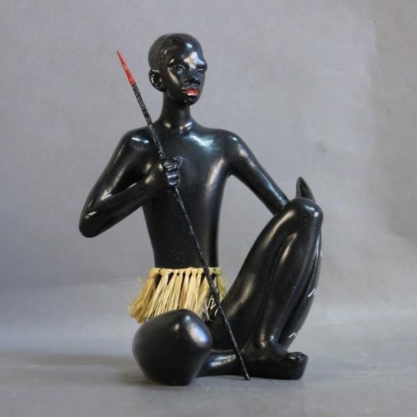 Ceramic figure at...
