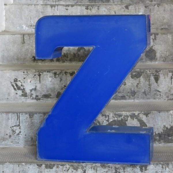 Big vintage sign letter - Z...