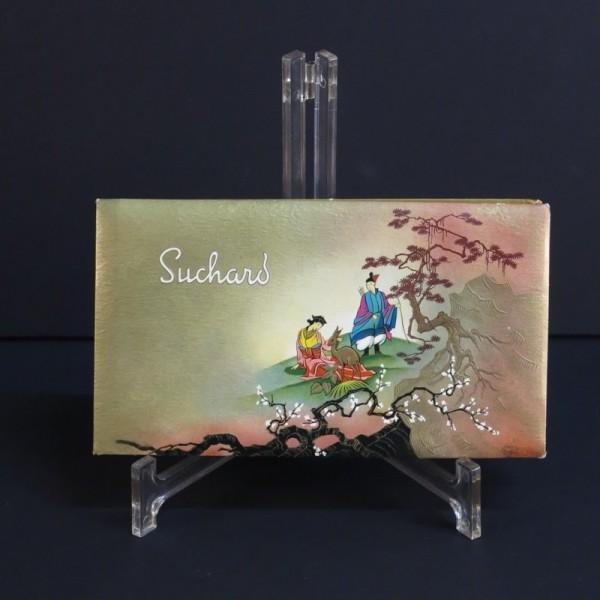 Advertising box. Suchard...