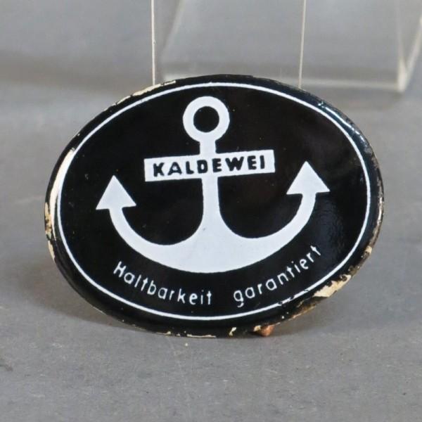 """Advertising sign """"Kaldewei""""..."""