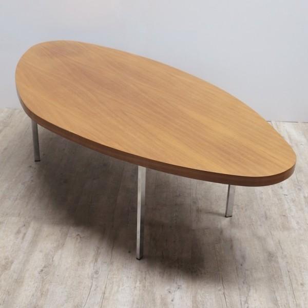 Oval Vintage Table. 1950 -...