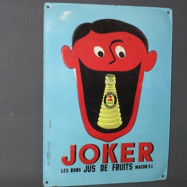 """Advertising sign """"Joker""""...."""