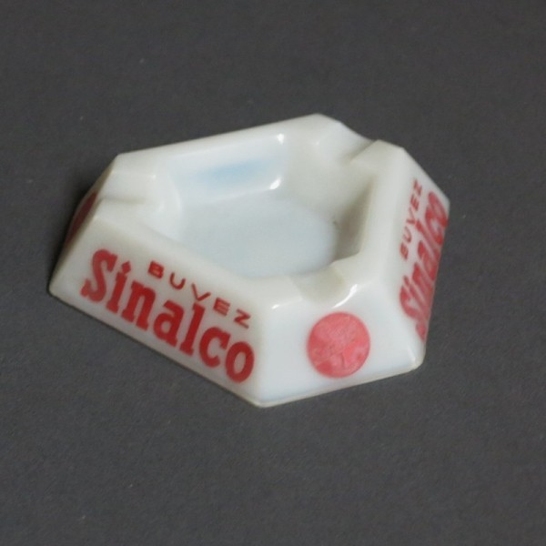Sinalco glass ashtray. 1950...
