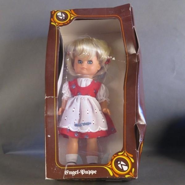 Mint in box. Engel doll....
