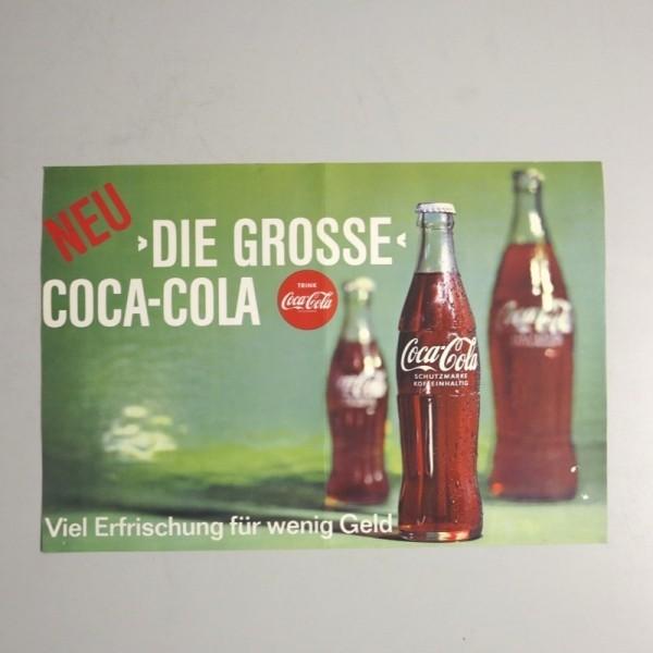 Selten. Coca Cola Plakat....