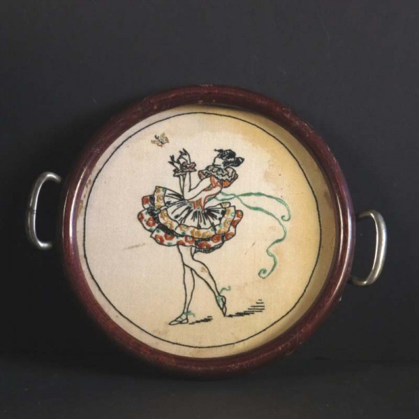 Art Nouveau serving tray...