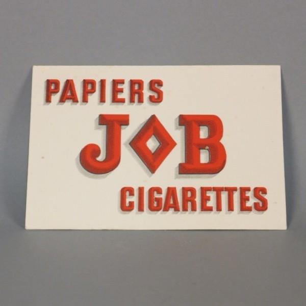 Advertising cardboard JOB...