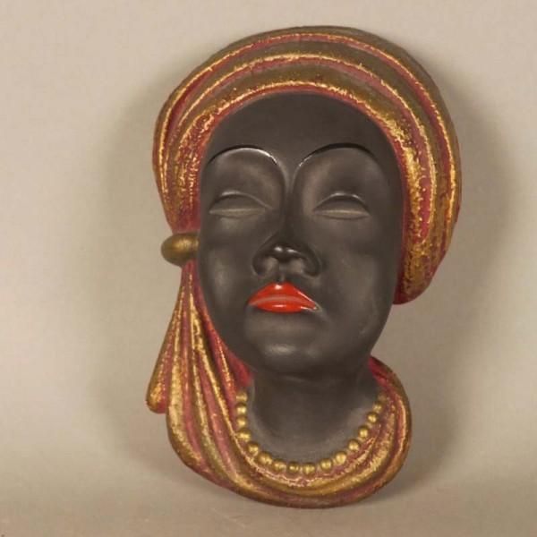Vintage ceramic wallmask....