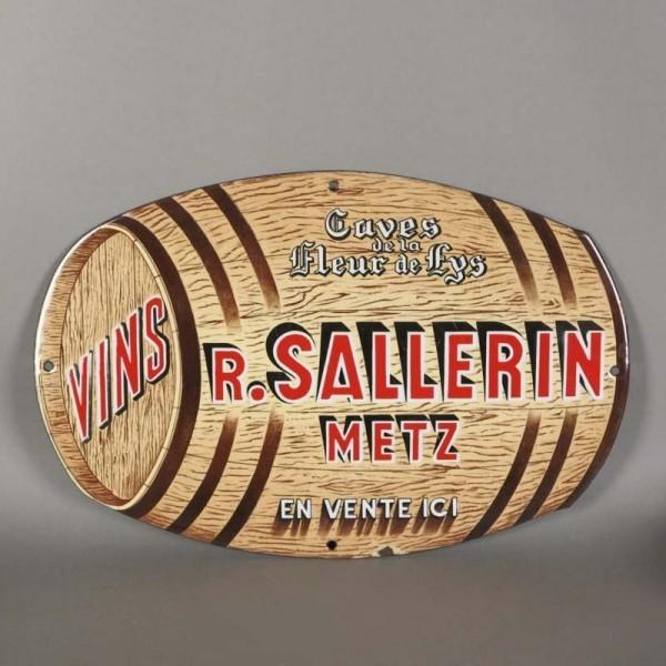 Advertising sign. Sallerin...