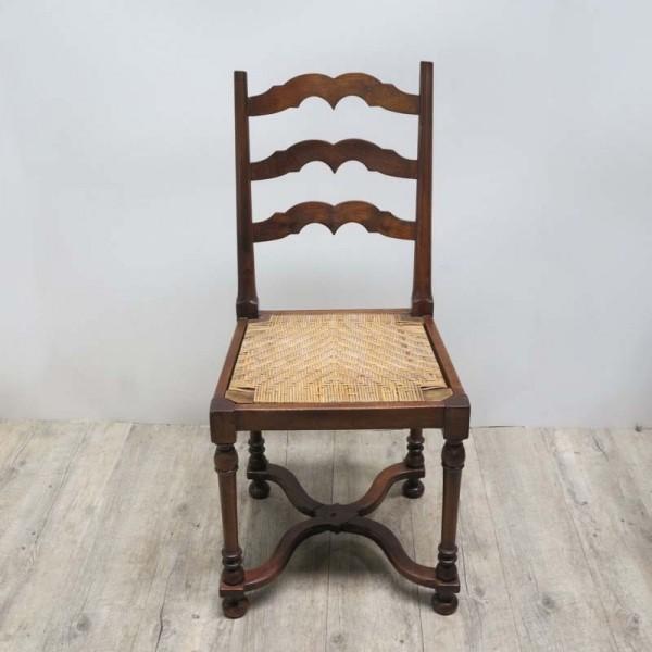 Art Nouveau chair with...