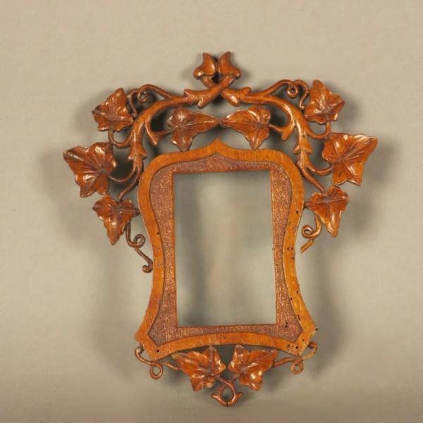 Art Nouveau carved picture...