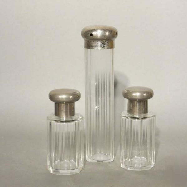 Art Nouveau perfume glass...
