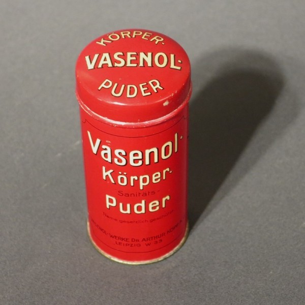 Blechdose Vasenol Körper...