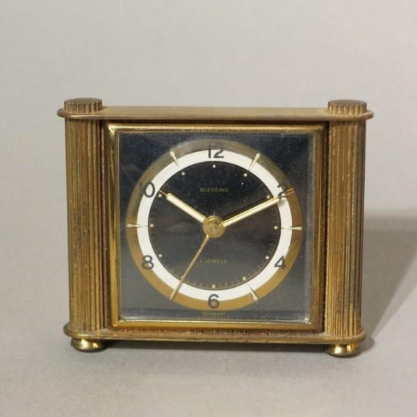 Art Deco Uhr von Blessing...