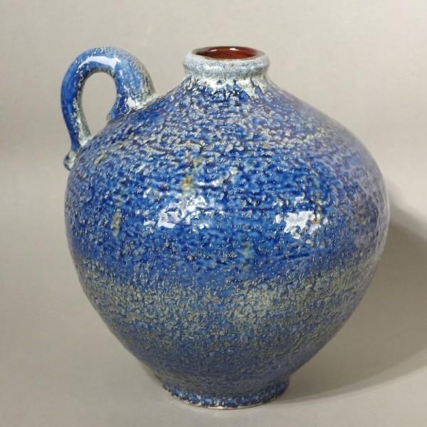 Blue Vintage ceramic vase....