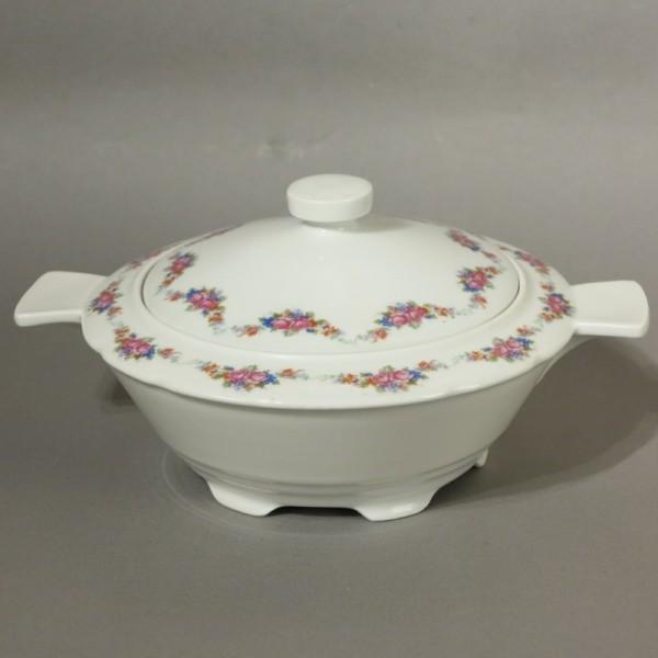 Art Deco porcelain soup...