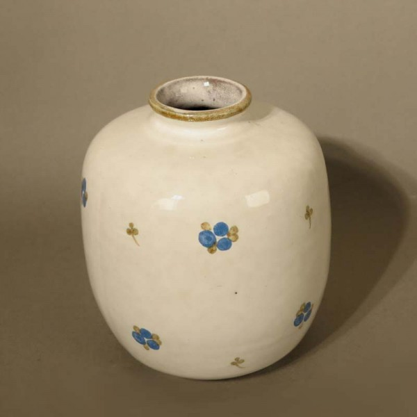 Ceramic vase with floral...