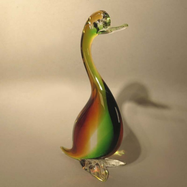 Glass duck from Murano....