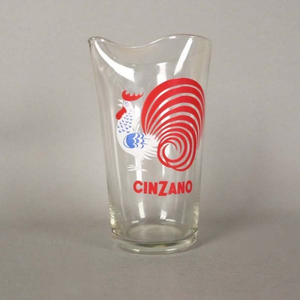 Cinzano water jug made of...