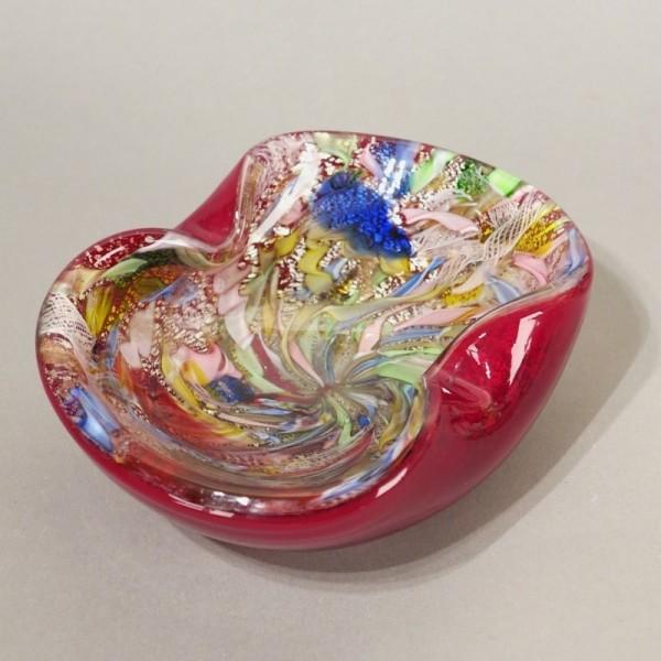 Murano Glass Bowl. Dino...