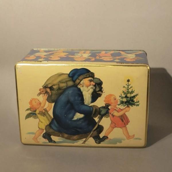 Caja de chapa de Navidad....