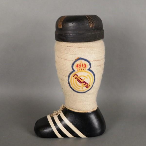 Real Madrid. Brandy bottle...