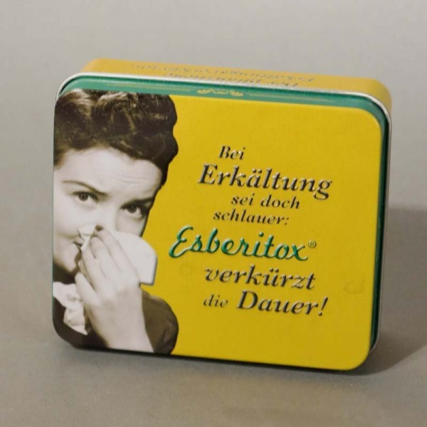 Advertising tin from...