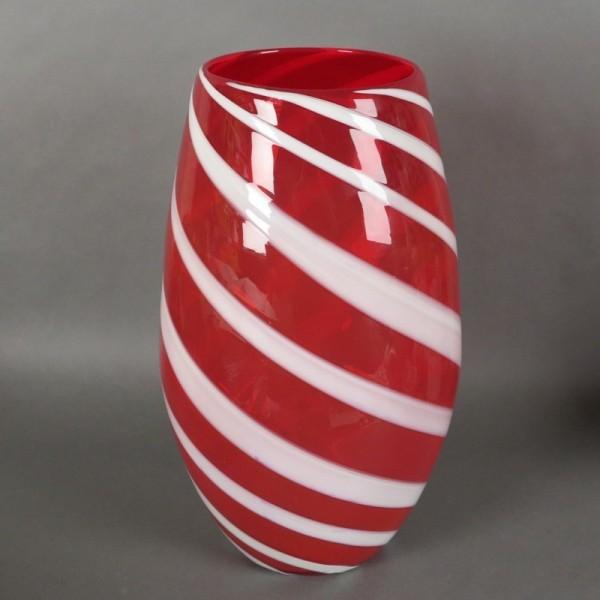 Big Red - White Murano...