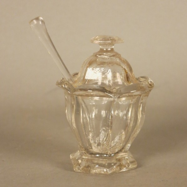Glass jar for sugar or...