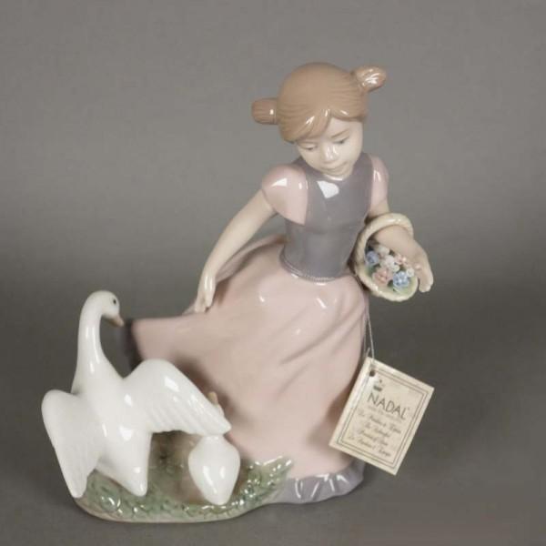 Porcelain figurine by...