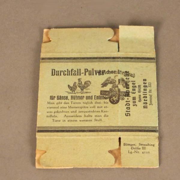 Carton box. Laxative powder...