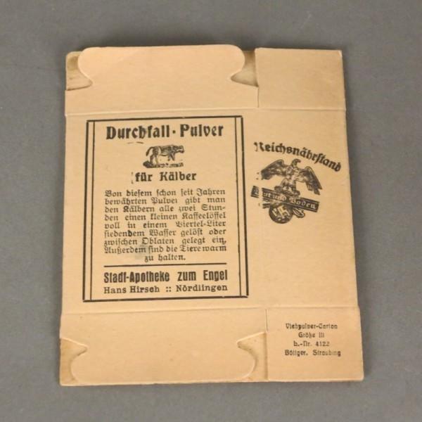 Carton box. Laxative for...