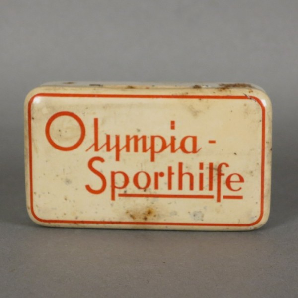 Blechdose. Olympia...
