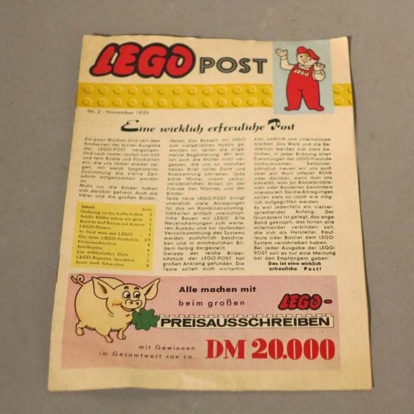 Selten. Heft Lego Post No.:...