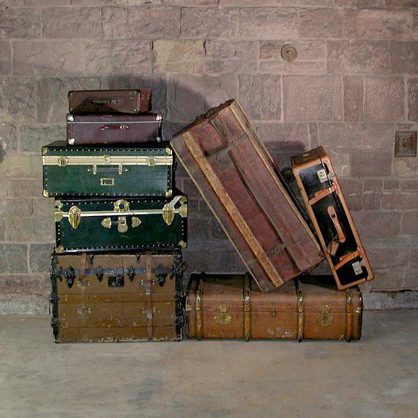 Suitcases, Trunks & Briefcases